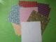 Origamipapier zum Ausschneiden der Vögel