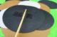 Rückseite geklebt - Pflanzenstecker